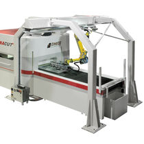 Robotic stacker / for sheet metal / for cutting applications