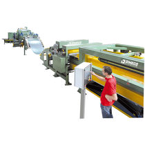 Metal cut-to-length cutting line / CNC / coil-fed
