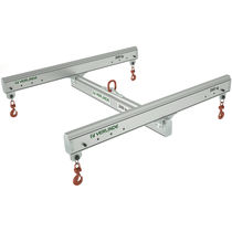 Industrial lifting beam / H-shaped / aluminum / adjustable