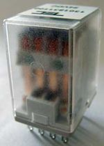 6 Vdc electromechanical relay / plug-in / power