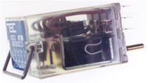 6 Vdc electromechanical relay / plug-in / power