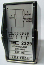 Voltage control relay / phase / 1 NO/NC / AC/DC