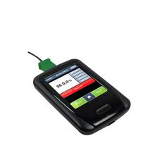 Temperature data-logger / USB / with LCD graphic display / with touch screen