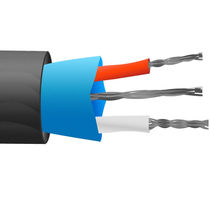 Waterproof electrical cable / multi-strand / for thermocouples / ANSI