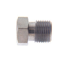 Hexagonal plug / threaded / stainless steel