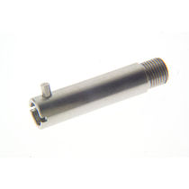 Hydraulic adapter / for hose / bayonet / stainless steel