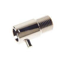 Hydraulic adapter / for hose / bayonet / brass