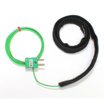 Type T thermocouple / type K thermocouple / Velcro® / for pipes