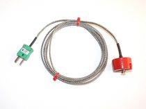 Type K thermocouple / insertion / magnetic-mount / for surface temperature measurement