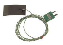 Type K thermocouple temperature probe / with magnetic strip / with thermocouple output / insulated