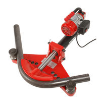Hydraulic bender / motorized / for tubes / cold