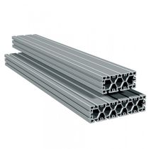 Aluminum profile / T-slot / lightweight / for machine frames and housings