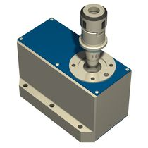Rotary table with stepper motor / vertical