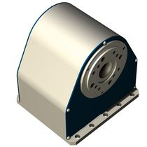 Rotary table with stepper motor / horizontal