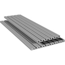 Aluminum profile / flat / guide