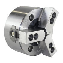 Power chuck / 3-jaw / closed-center