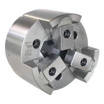 Power chuck / 3-jaw / through-hole / high-precision