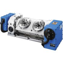 Motor-driven rotary table / tilting / for machining centers / multi-spindle