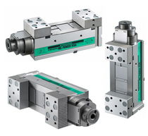 Machine tool vise / modular / vertical / steel