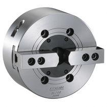 Power chuck / 2-jaw / through-hole / alloy