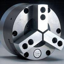 Power chuck / 3-jaw / closed-center / high-precision