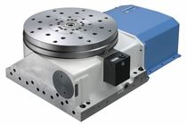 Hydraulic rotary indexing table / horizontal / with face gear / servo-driven