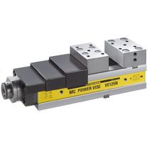 Machine tool vise / low-profile / precision / compact