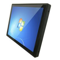 LCD monitor / TFT / with PCT touch screen / LED backlight