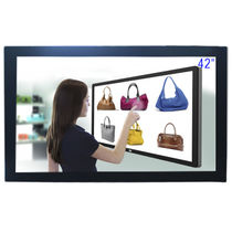 Monitor with touchscreen / LED / 1920 x 1200 / wall-mount