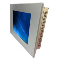 LCD monitor / 800 x 600 / panel-mount / industrial