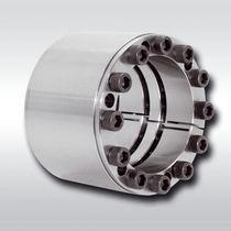 Rigid coupling / for shafts / zero-backlash / shaft-hub