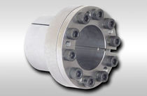 Expandible axle coupling / for shafts / zero-backlash / shaft-hub
