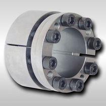 Torsionally rigid coupling / for shafts / zero-backlash / shaft-hub