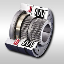 Roller torque limiter / friction-free / with sprocket wheel / safety