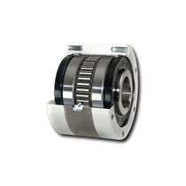 Sprag one-way clutch / with internal bearings / full-face / indexing