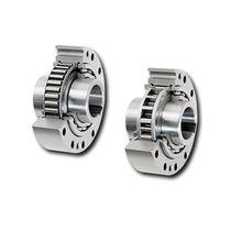 Sprag one-way clutch / with internal bearings / indexing / backstop