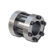 Rigid coupling / for shafts / zero-backlash / flange