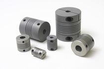 Flexible coupling / stainless steel / safety / flange