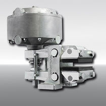 Friction brake / with pneumatic release / spring activated / emergency