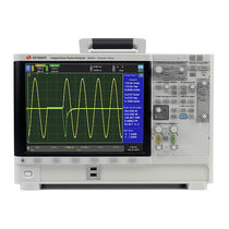 Electrical network analyzer / power / benchtop / dual-channel