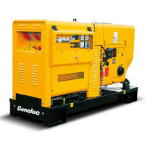 Diesel generator set / three-phase / 50 Hz / with cover
