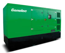 Three-phase generator set / diesel / 50 Hz / soundproofed
