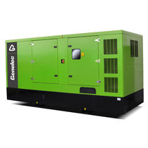 Diesel generator set / three-phase / 50 Hz / soundproofed