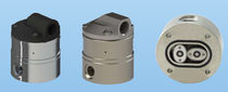 Oval wheel flow meter / for liquids / with pulse output / in-line