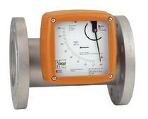 Variable-area flow meter / for liquids / with analog output / in-line