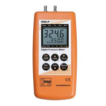 Digital pressure gauge / differential / process / portable
