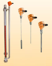 Radar level transmitter / for solids / for liquids / stainless steel
