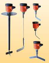 Rotary paddle level switch / for bulk materials / explosion-proof / rugged