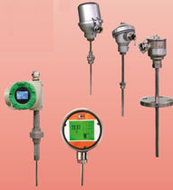 Resistance temperature probe / Pt100 / stainless steel / HART interface