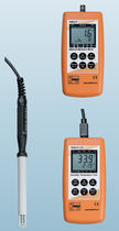 Digital hygrometer / portable / relative humidity / IP65
